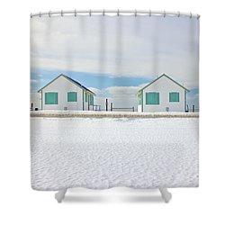 Truro Cottages Shower Curtain