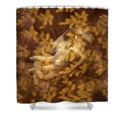 Trust Shower Curtain by Kurt Van Wagner