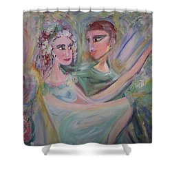 Trust Me On This Shower Curtain by Judith Desrosiers