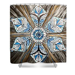 Truth Shower Curtain by Teal Eye  Print Store