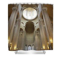 Tsminda Sameba Cathedral Interior Tbilisi Georgia Shower Curtain by Robert Preston