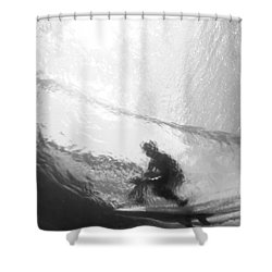 Tube Time Shower Curtain