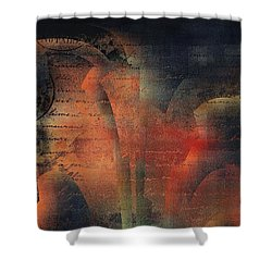 Tubulence - S03ac01 Shower Curtain by Variance Collections