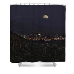 Tucson At Dusk Shower Curtain