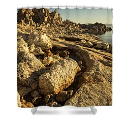 Tufa Rock Shower Curtain