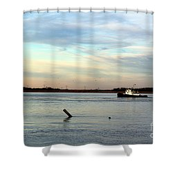 Tug Boat Shower Curtain
