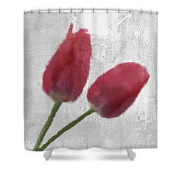 Tulip Shower Curtain by Aged Pixel