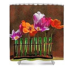 Tulip Experiments Shower Curtain