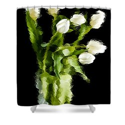 Tulip Impressions Vii Shower Curtain
