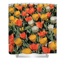 Tulip Stretch Shower Curtain