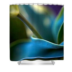 Tulip Unexpected Shower Curtain by Theresa Tahara