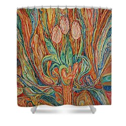 Tulips I Shower Curtain