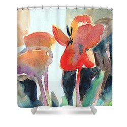 Tulips Together Shower Curtain