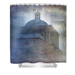 Tumacacori Afternoon Shower Curtain by Sandra Bronstein