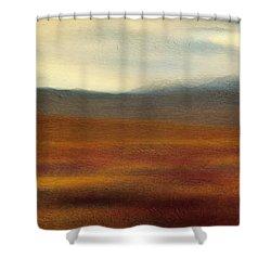 Tundra Autumn Melody Shower Curtain by Priska Wettstein