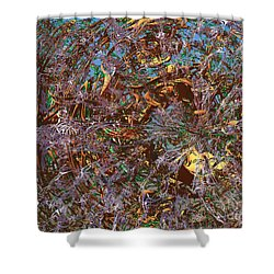 Tunnel Vision Shower Curtain by Ed Churchill