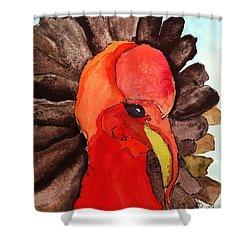 Turkey In Waiting Shower Curtain