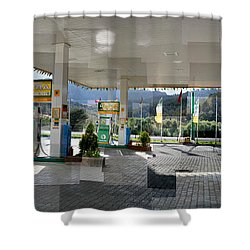 Turkish Gas Shower Curtain