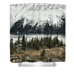 Turnagain Arm  Shower Curtain