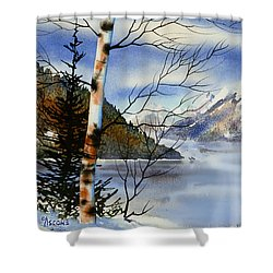 Turnagain View Shower Curtain