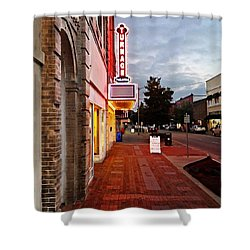 Turnage Theater Grand Opening Shower Curtain