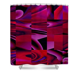 Turning Corners - Kristi Kruse Shower Curtain