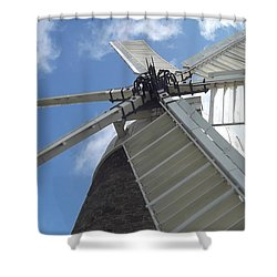 Shower Curtain featuring the photograph Turning In The Wind by Tracey Williams
