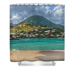 Shower Curtain featuring the photograph Turquoise Paradise by Hanny Heim