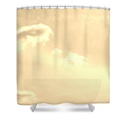 Turtle Cloud Bliss Shower Curtain