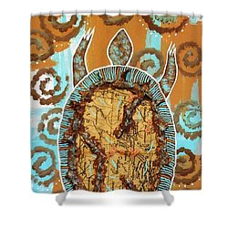 Turtle Journey Shower Curtain