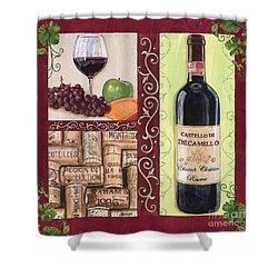 Tuscan Collage 2 Shower Curtain by Debbie DeWitt