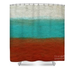 Tuscan Shower Curtain by Linda Woods