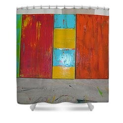 Tuscany Seasons Shower Curtain