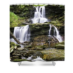 Tuscarora Falls Shower Curtain