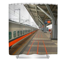 Tw Bullet Train 2 Shower Curtain
