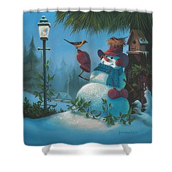 Tweet Dreams Shower Curtain by Michael Humphries