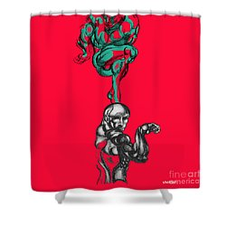 Twenty Two Shower Curtain