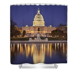 Twilight At Us Capitol Shower Curtain