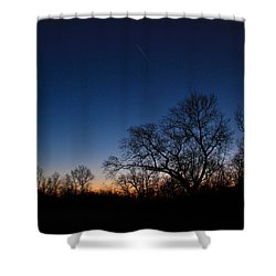 Twilight Dream Shower Curtain by Julie Andel