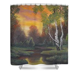 Twilight Fall  Shower Curtain
