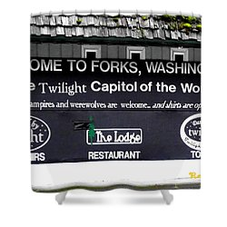 Twilight In Forks Wa 5 Shower Curtain