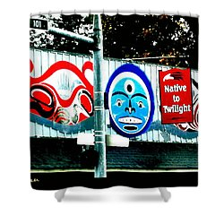 Twilight In Forks Wa 6 Shower Curtain