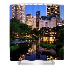 Twilight Nyc Shower Curtain