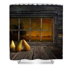 Twilight Of The Evening Shower Curtain by Veikko Suikkanen
