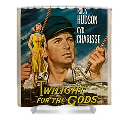 Twilight Of The Gods 1958 Shower Curtain by Mountain Dreams