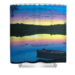 Twilight Quiet Time Shower Curtain