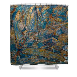 Twilight Sails Shower Curtain
