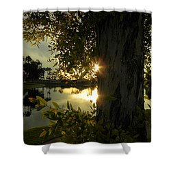 Shower Curtain featuring the photograph Twilight Splendor by Deb Halloran