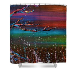 Twilight Sun Shower Curtain