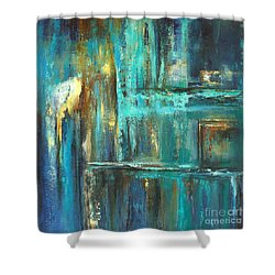 Twilight Shower Curtain by Valerie Travers